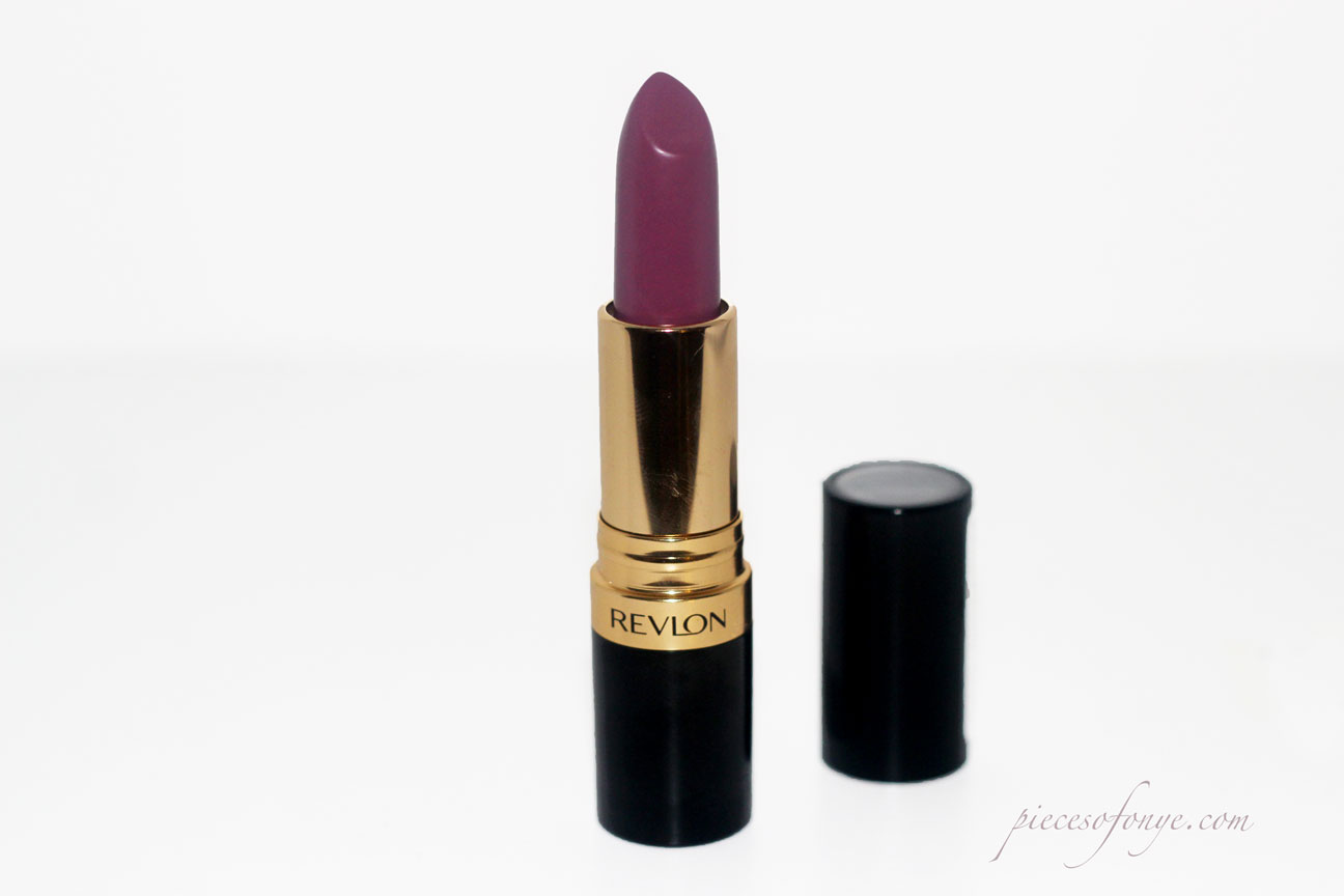 Review on Revlon's Berry Haute Lipstick