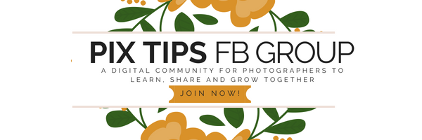 PIX TIPS FB Group For Photographers